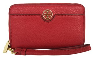fc3bb0ab1de2 Tory Burch Tory Burch Robinson Pebbled Leather Smartphone Wristlet Wallet -  item med img
