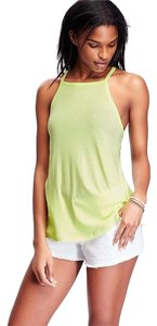 Old Navy Cotton Blend New Top Lime Green