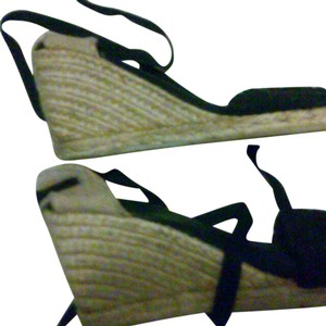 Montego Bay Club black Wedges