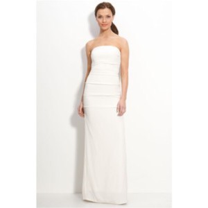 Nicole Miller Beautiful Silk Wedding Dress Wedding Dress