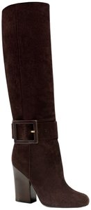 Gucci Kesha Suede Knee High Us 8 Brown Boots