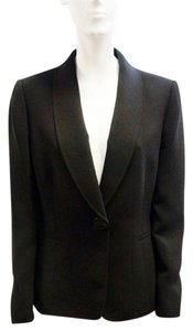 Tahari Arthur Single Levine Medium Black Jacket