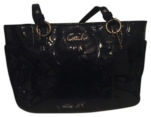 Coach Tote in Navy