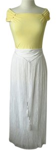 White House | Black Market Maxi Skirt white