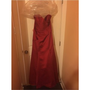 Alfred Angelo Cherry Red Dress