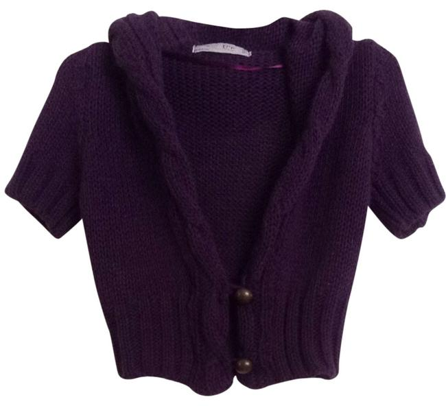 Preload https://item5.tradesy.com/images/trafaluc-purple-made-in-italy-cardigan-size-6-s-1091984-0-0.jpg?width=400&height=650
