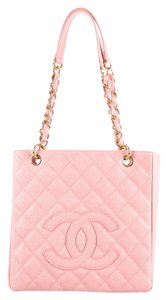 Chanel Shopping Pst Tote in pink