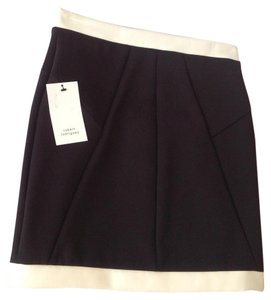 Robert Rodriguez Mini Skirt Black-White