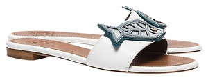 Tory Burch WHITE Mules