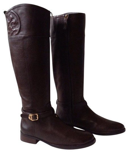 Preload https://item2.tradesy.com/images/tory-burch-coconut-marlene-riding-bootsbooties-size-us-8-regular-m-b-10921741-0-1.jpg?width=440&height=440