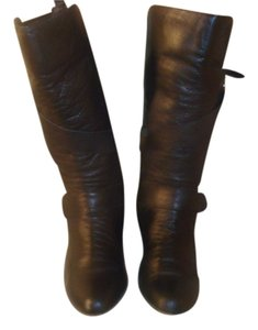 Steve Madden Knee High Black Boots