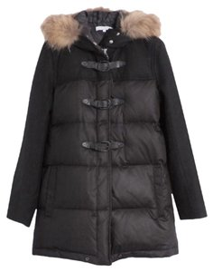 Sandro parka with fur Fur Coat