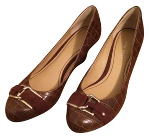 Nine West Brown Wedges