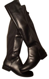 Rampage Over-the-knee Faux Leather Black Boots