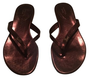 Gucci Metallic Sandals