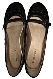Faded Glory Light Comfortable Office Wear Dark Brown Flats