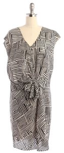 Greylin short dress Black and White Print on Tradesy