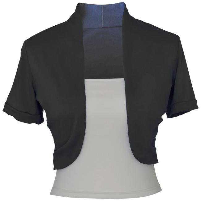 Other Short Sleeve Bolero Shrug w/ Tube Top. 2 separate pieces Image 1