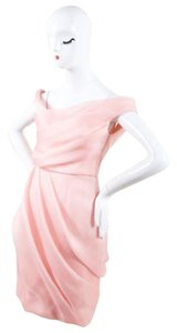 Lela Rose Silk Woven Pleated Off The Dress