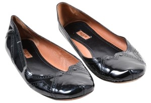 ALAÏA Alaia Patent Leather Black Flats