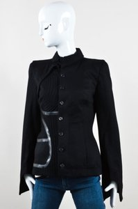 Alexander McQueen Wool Black Jacket