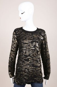 Isabel Marant Black Silk Tunic