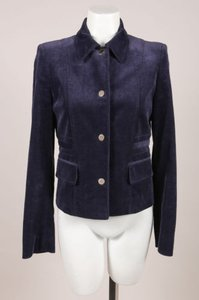 Gucci Navy Blue Corduroy Jacket