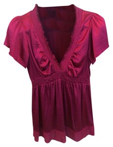 BCBGMAXAZRIA Top Raspberry