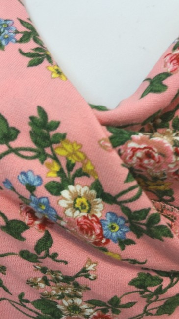 TWINSET SIMONA BARBIERI Italy Knit Floral Top PINK Image 1