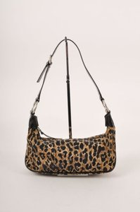 Dolce&Gabbana Dolce Gabbana Brown Black Shoulder Bag