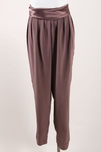 J. Mendel Silk Pleated Tuxedo Harem Pants