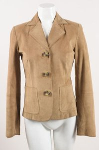 Max Mara Weekend Suede Tan Jacket
