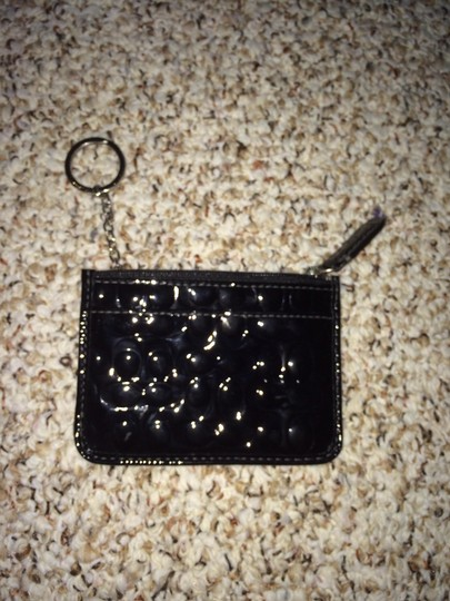 Coach Wristlet in Black patent