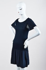 Fendi short dress Blue Navy Drop Waist on Tradesy