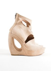 Ann Demeulemeester Suede Tan Boots