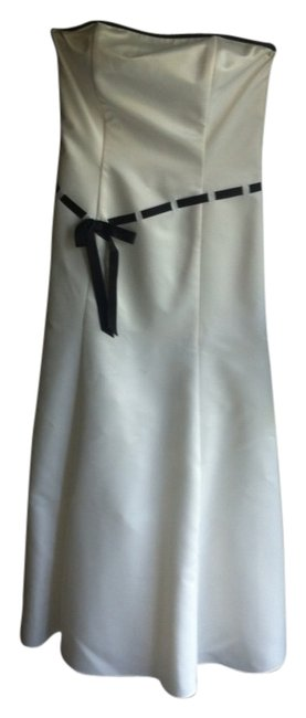 Preload https://item2.tradesy.com/images/jessica-mcclintock-dress-white-with-black-details-1092986-0-0.jpg?width=400&height=650