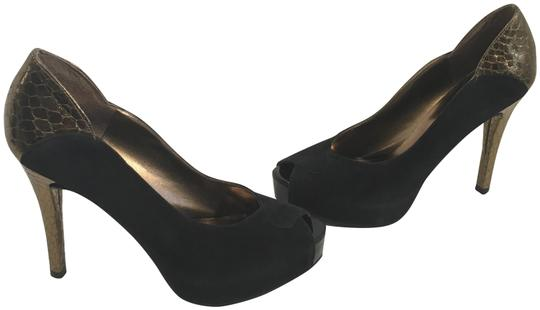 Preload https://item5.tradesy.com/images/guess-black-suede-and-gold-embossed-leathers-peep-toe-lea-platforms-size-us-75-regular-m-b-1092994-0-2.jpg?width=440&height=440