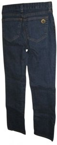Boston Proper Dark Denim Flattering Size 2 Petite Straight Leg Jeans-Dark Rinse