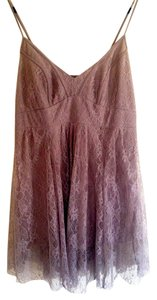 Topshop Top Mauve Brown