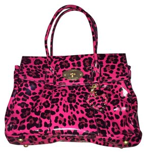 Mulberry for Target Tote in Pink leopard