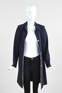 Michael Kors Navy White Piped Blue Jacket