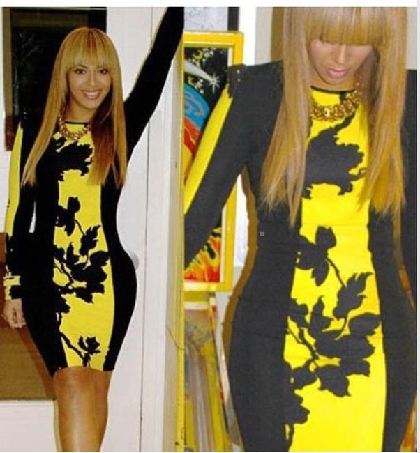 Other short dress Black And Yellow on Tradesy