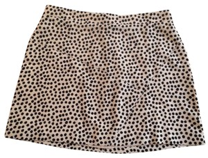 BCBGMAXAZRIA Mini Skirt Tan & Black