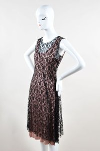 Loy And Ford Black Lace Dress