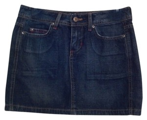 BKE Mini Skirt blue denim