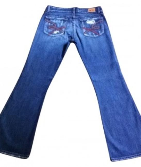 Preload https://item5.tradesy.com/images/distressed-boot-cut-jeans-size-30-6-m-10934-0-0.jpg?width=400&height=650