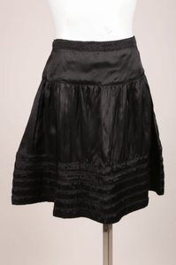 See by Chloé Chloe Black Pleated Skirt