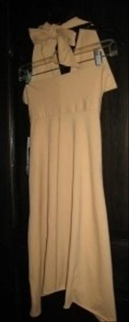 American Apparel short dress Nude Convertible Summer on Tradesy