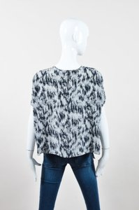 Sportmax Black White Gray Top Multi-Color