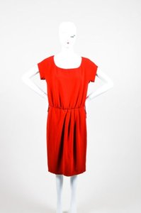 Moschino short dress Red Cheap And Chic on Tradesy